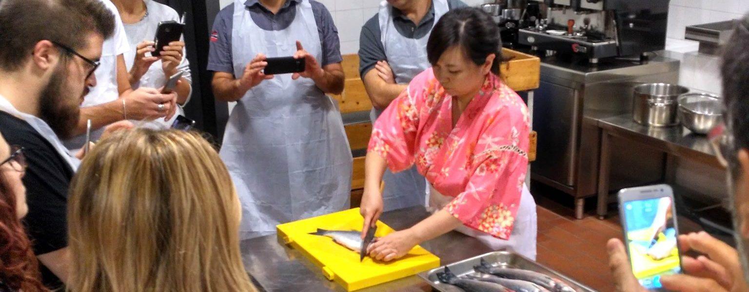Il corso di cucina giapponese della nostra chef noriko for Corso di cucina giapponese
